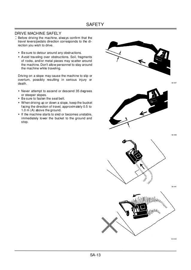 Hitachi zaxis 220 225 230 270 excavator workshop manual