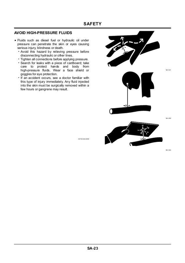 Hitachi zaxis 225 usr excavator service repair manual