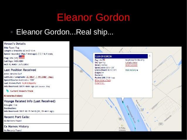 Eleanor Gordon ●  Eleanor Gordon...Real ship...  20