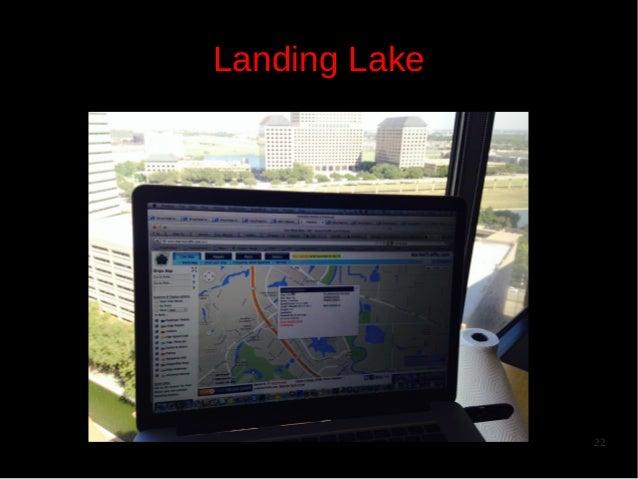 Landing Lake  22