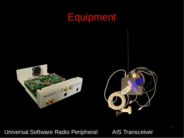 Equipment  Universal Software Radio Peripheral  AIS Transceiver  31