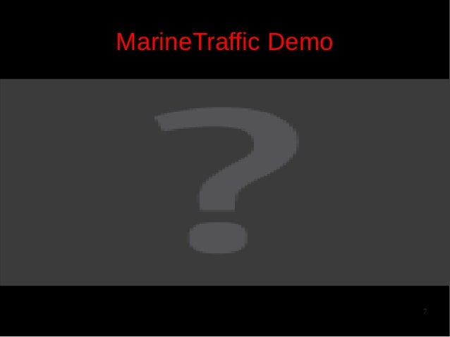 MarineTraffic Demo  7
