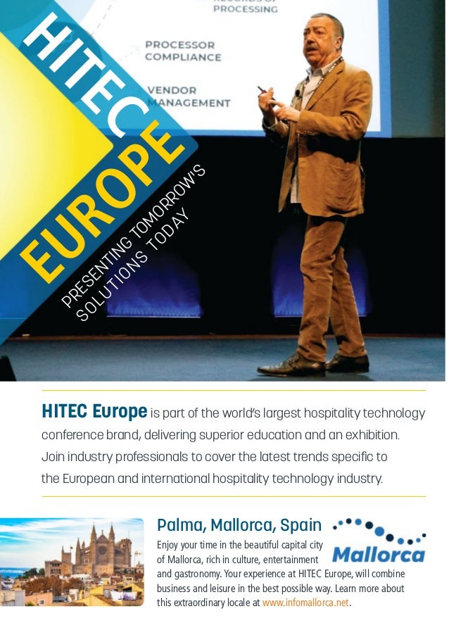 HITEC Europe 2019 Brochure