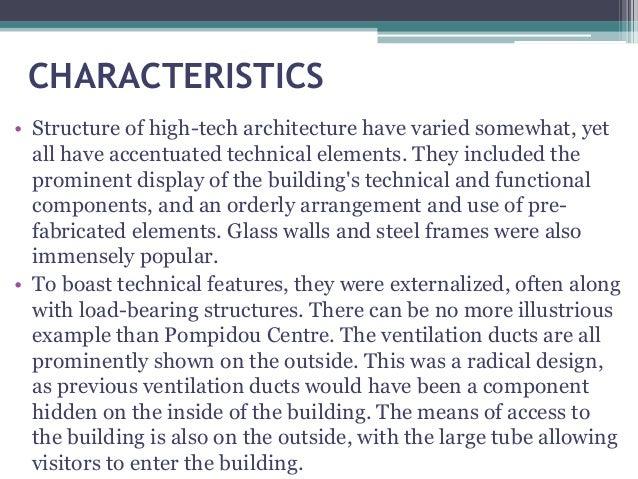 Hitech Architecture