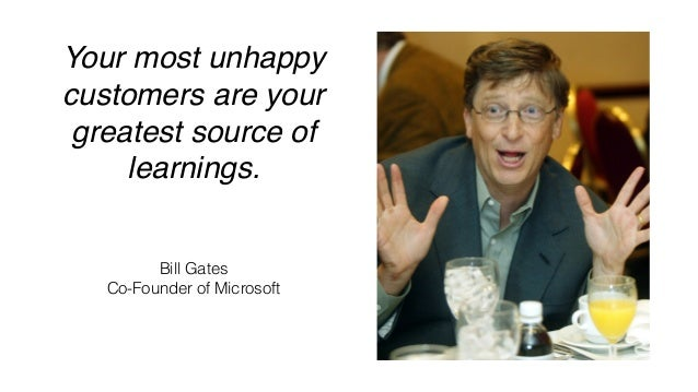 Your competitor's most unhappy customers are your greatest source of learnings. 💡