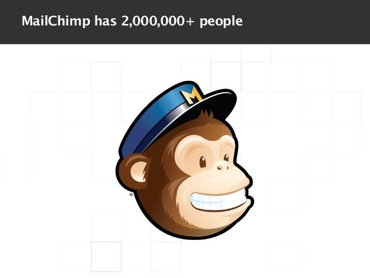 MailChimp has 2,000,000+ people