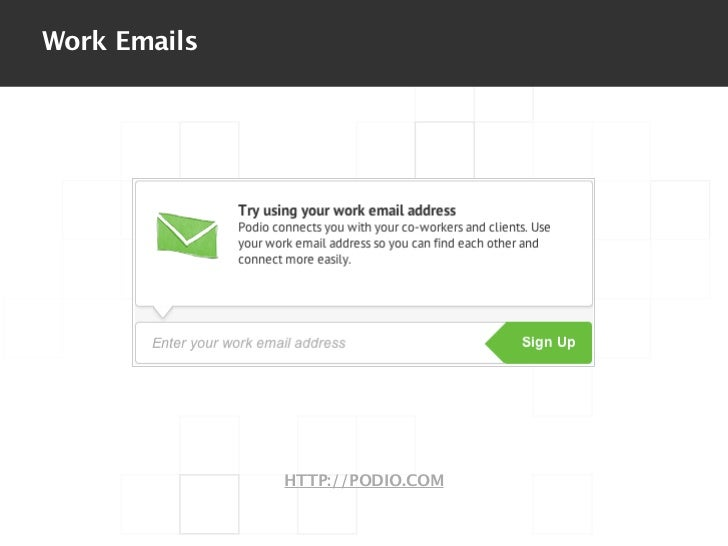 Work Emails              HTTP://PODIO.COM