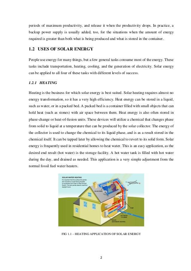 Solar Inverter Project Report Slide 2