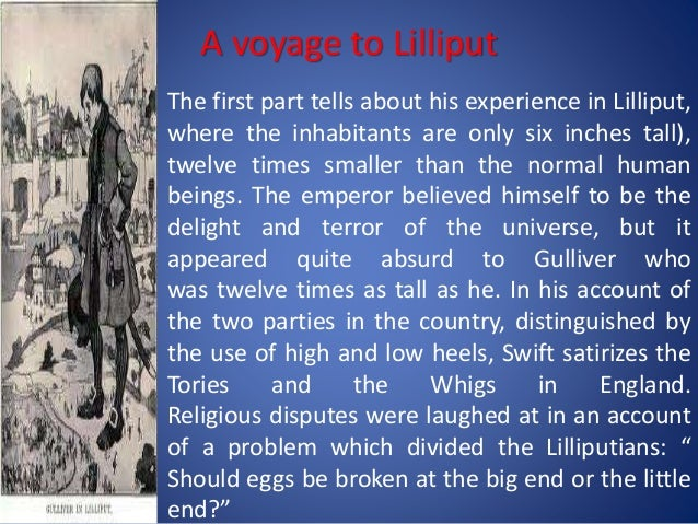 gullivers travels a voyage to lilliput