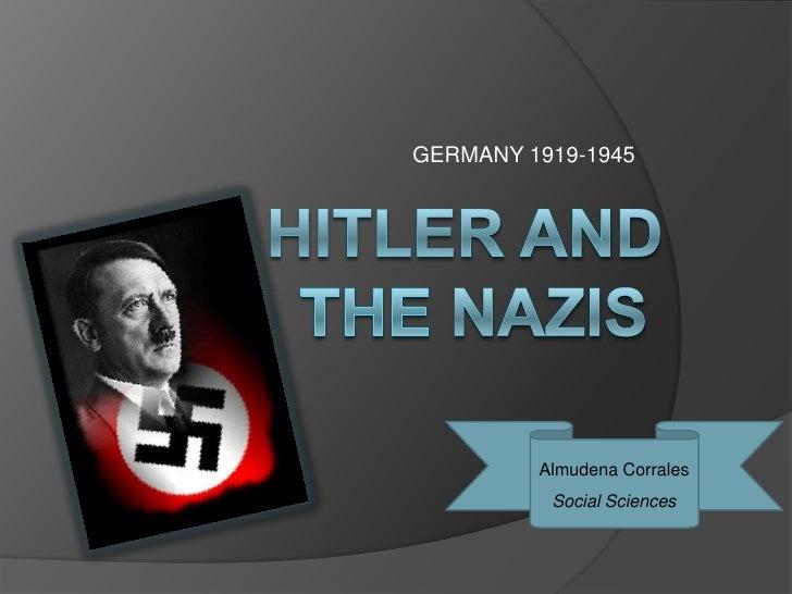 GERMANY 1919-1945         Almudena Corrales          Social Sciences