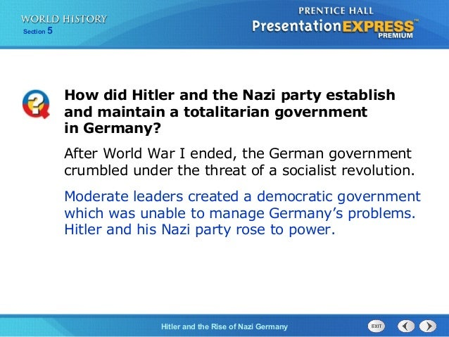 did hitler create a totalitarian regime essay Totalitarian regimes - totalitarianism essay example how did hitler manage to achieve the anschluss.