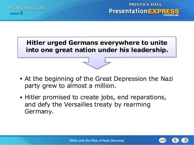 extreme nationalist hitlers rise into power essay Extreme nationalist, hitler's rise into power in 1933, a widely known nationalist  figure known as adolf hitler, rose into power as chancellor of germany.