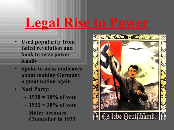 Adolf Hitler Rise To Power Essay Words - image 2
