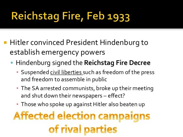 consolidation of power in nazi germany essay However there were also other factors such as legality, tactical alliances and the successful use of propaganda which in effect contributed a vast amount to the nazi's consolidation of power, the nazis deployed propaganda effectively as a means of deceiving the political nation of their real intentions and significances of their actions .