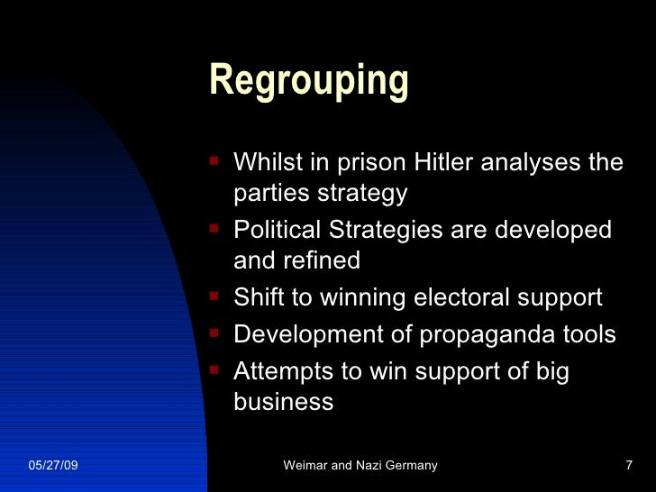hitlers rise to power essay Summary hitler's rise to power was based upon long-term factors - resentment in  the german people, the weakness of the weimar system - which he exploited.