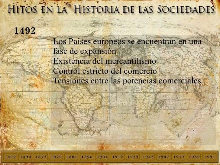1492 <ul><li>Los Paises europeos se encuentran en una fase de expansión
