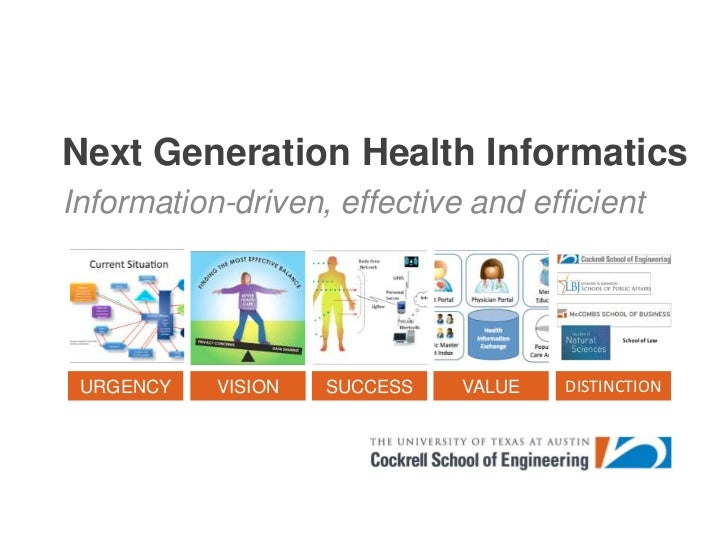 Next Generation Health Informatics<br />Information-driven, effective and efficient <br />