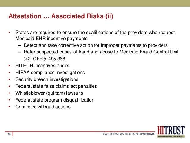 HITRUST CSF Meaningful use risk assessment