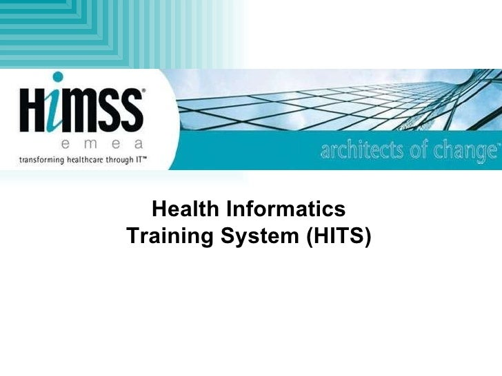 Health Informatics Training System (HITS)