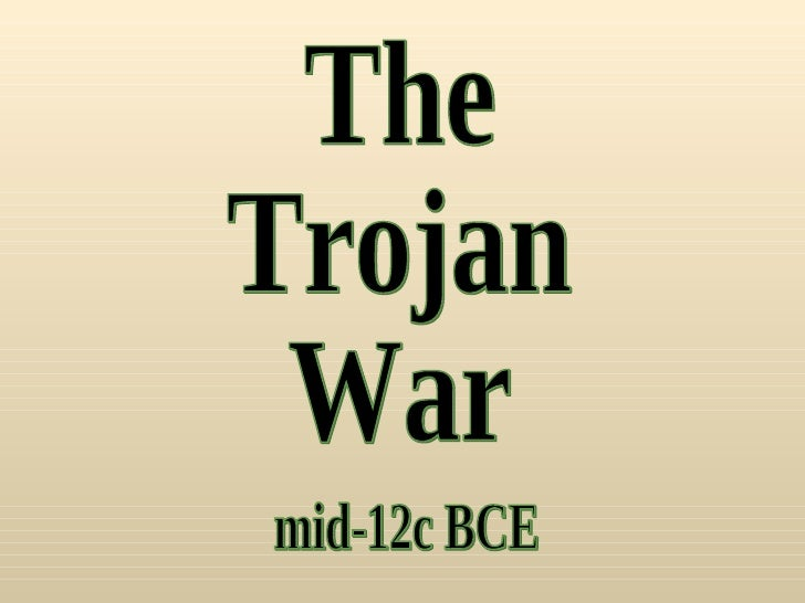 the true cause that instigated the trojan war In greek legend, the trojan war was fought between the greeks and the city of  troy the direct cause of this war was the beauty of helen of troy, daughter of the .