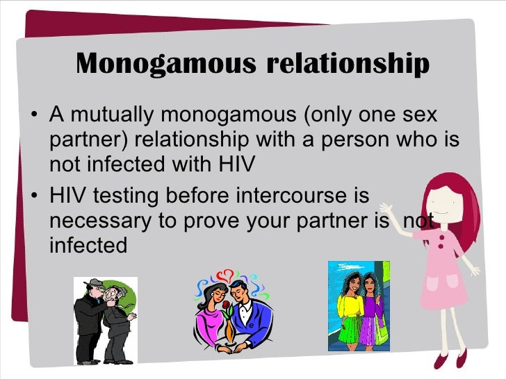 define mutually monogamous relationship and herpes