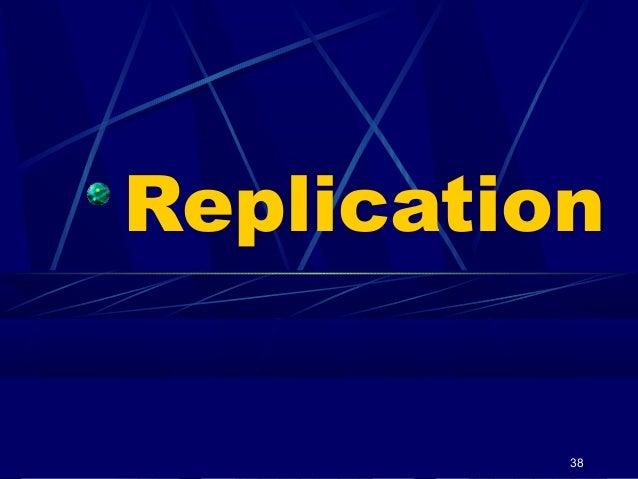 Replication  38