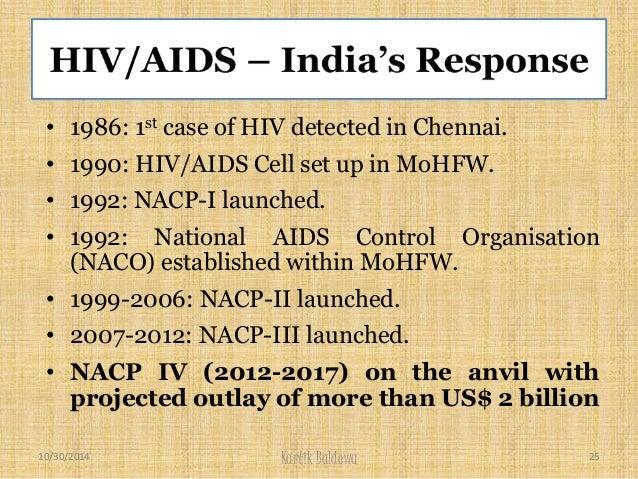 ... 25. • 1986: 1st case of HIV ...