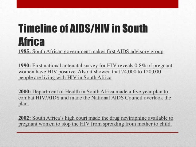 hiv in south africa An estimated seven million people live with hiv in south africa' and infection rates remain high' so scientists work continually to find ways to prevent the.
