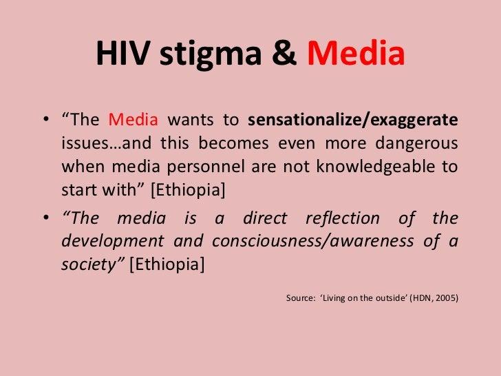 hiv related stigma and discrimination pdf