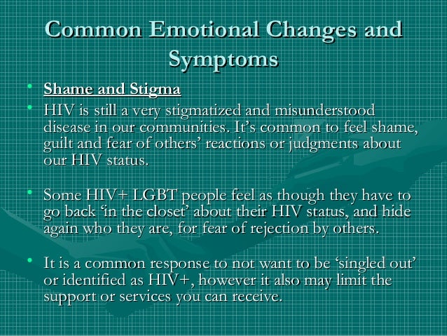 the psychological status of hiv positive people Request pdf on researchgate | the psychological status of hiv-positive people and their psychosocial experiences in eastern china | the aim of the study was to investigate the psychological status and the psychosocial experiences of hiv-positive people using symptom check list 90 (scl-90) in eastern china.