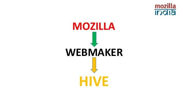 MOZILLA  WEBMAKER  HIVE