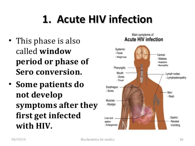 2.Asymptomaticor2.AsymptomaticorLatentinfectionLatentinfection • AllpersonsinfectedwithHIV,passthroughapha...