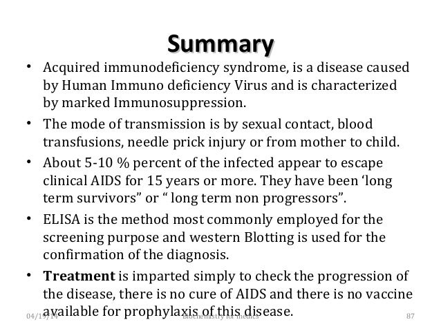 HIV infection (AIDS)