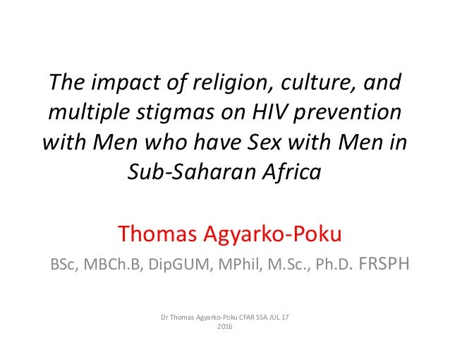 Stigmas and sexuality