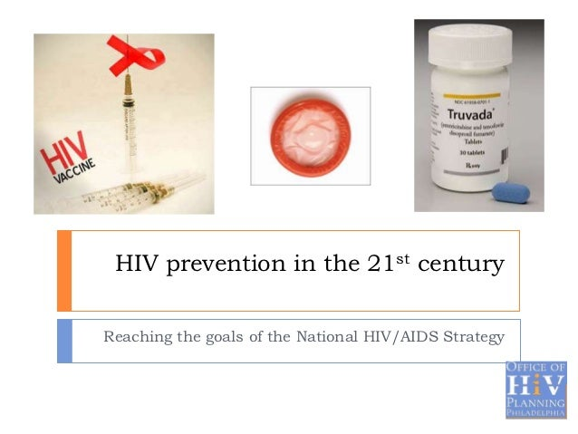 HIV prevention in the 21st centuryReaching the goals of the National HIV/AIDS Strategy