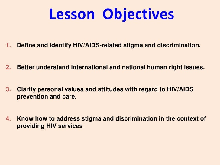 the stigma of hiv and aids Hiv-related stigma refers to unfavorable attitudes, beliefs, and policies directed toward people perceived to have hiv/aids as well as their loved ones.