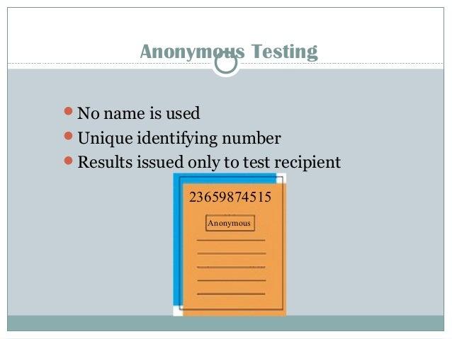Blood Detection Tests HIV enzyme-linked immunosorbent assay (ELISA) Screening test for HIV Sensitivity > 99.9% Western blo...