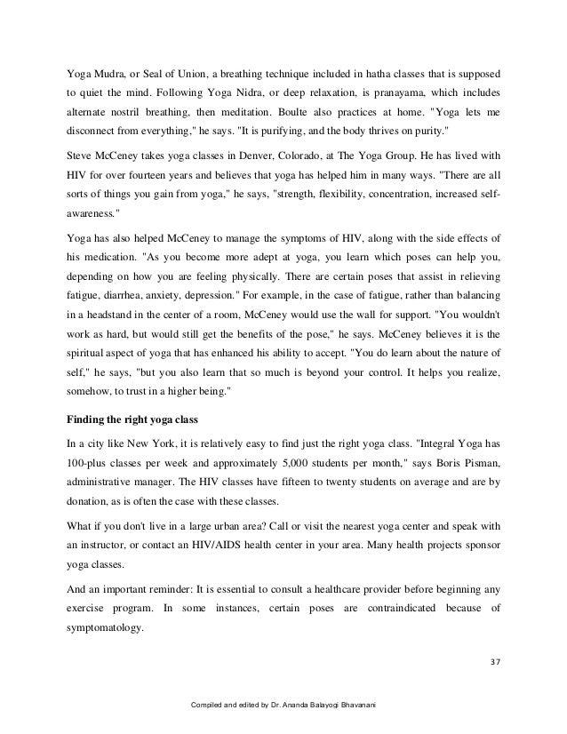 Essay on meditation