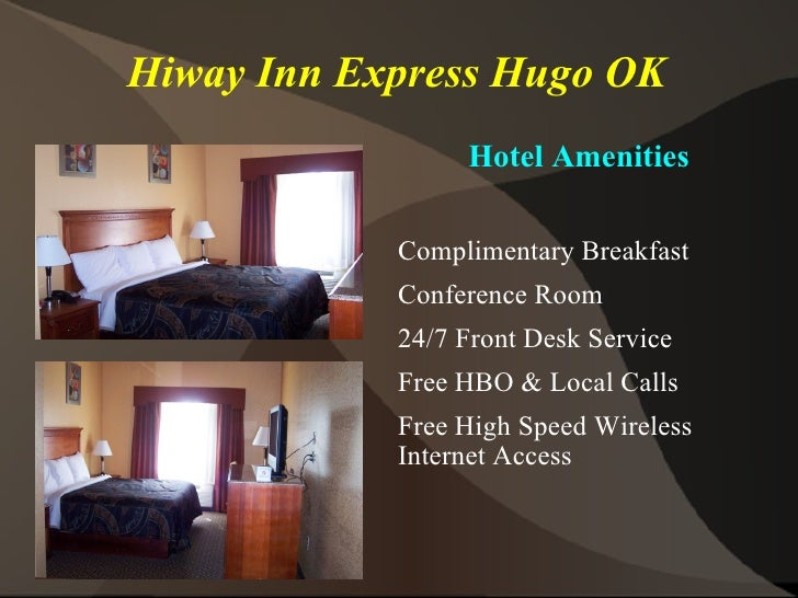 Hotels Near Hugo Ok