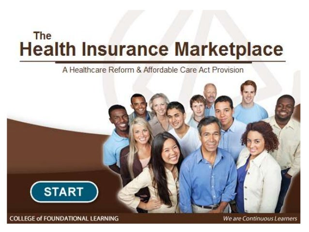 Health Insurance Marketplace e-learning course