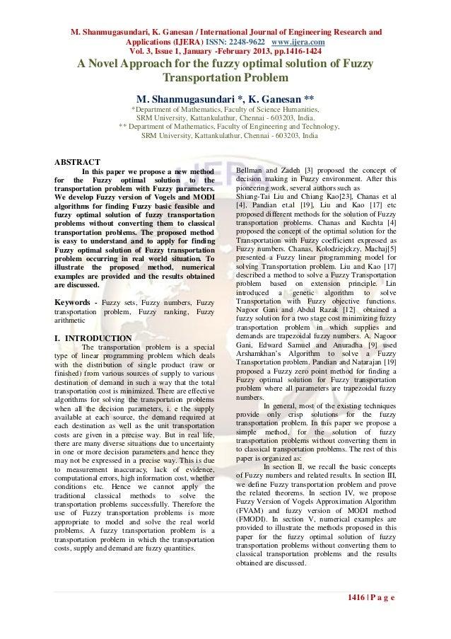 M. Shanmugasundari, K. Ganesan / International Journal of Engineering Research and                 Applications (IJERA) IS...