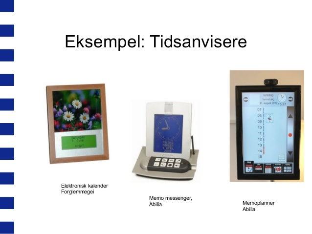 elektronisk kalender til demente