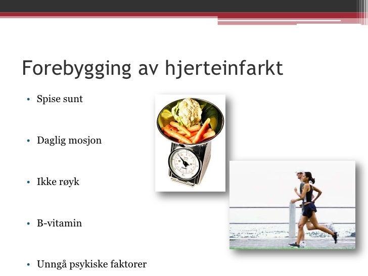 hjerteinfarkt forebygging