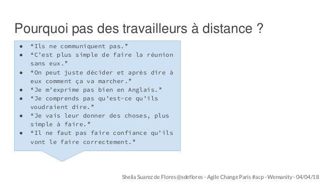 Équipes distribuées : Comment mieux collaborer à distance ? Slide 3