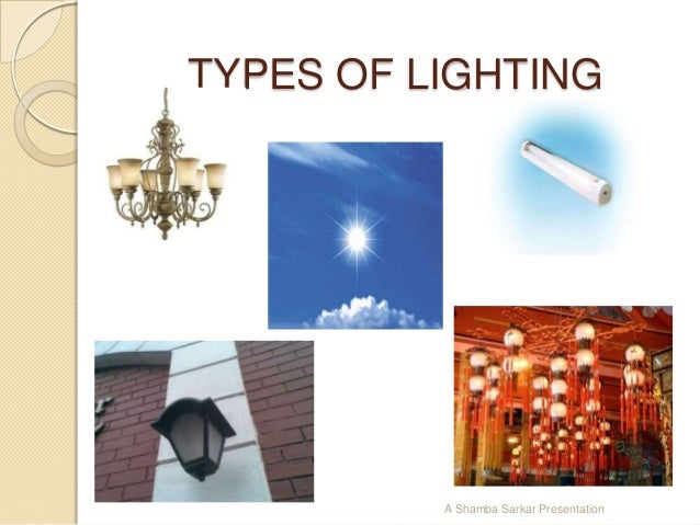Types of lighting in interior design ppt - Types of lighting in interior design ...