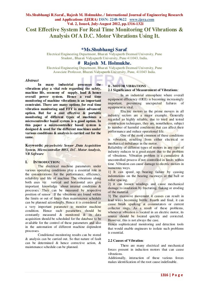 Ms.Shubhangi R.Saraf., Rajesh M. Holmukhe. / International Journal of Engineering Research               and Applications ...