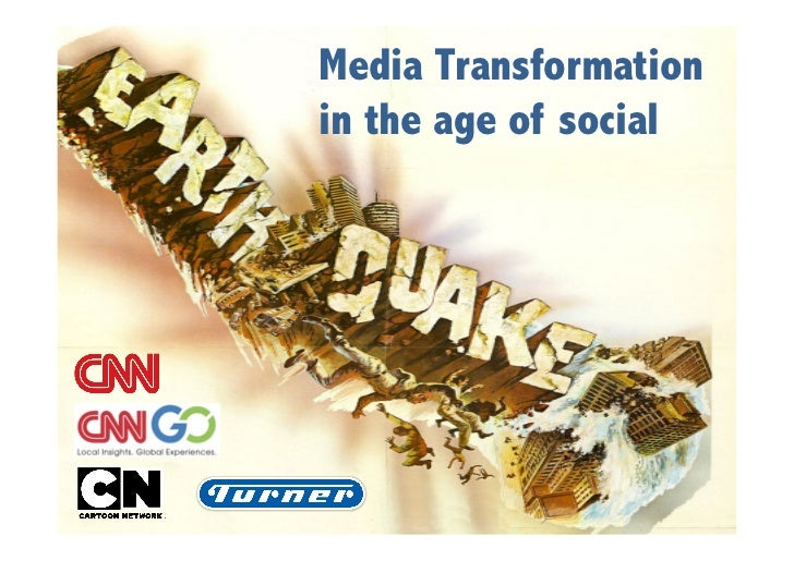Media Transformationin the age of social