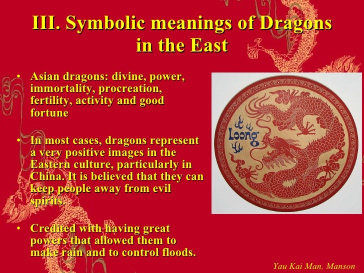 Symbolic Meanings of Dragons between East and West ( HKBU