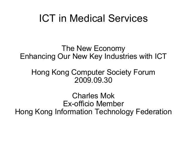 ict in health services Ict for health (or e-health) programs are often considered to be expensive, time-consuming, risky, and otherwise distracting from the primary focus and intent of health sector programs in some cases these criticisms may be valid.