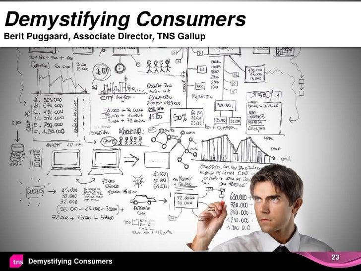 Demystifying ConsumersBerit Puggaard, Associate Director, TNS Gallup                                                 23   ...